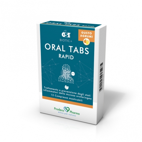 Oral tabs agrumi