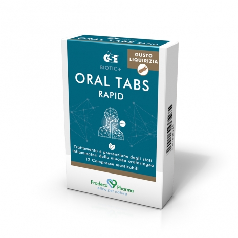 Oral tabs liquirizia